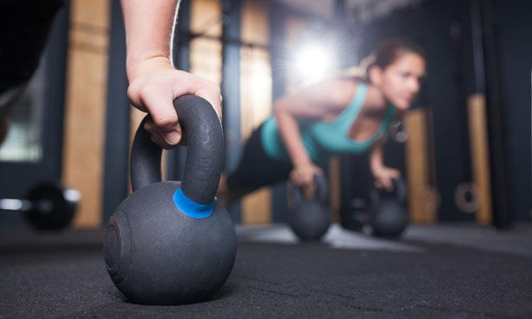 Werbefoto für Sport und Fitness